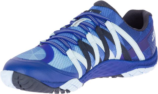 Merrell W's Trail Glove 4 Shoes Blå Sport